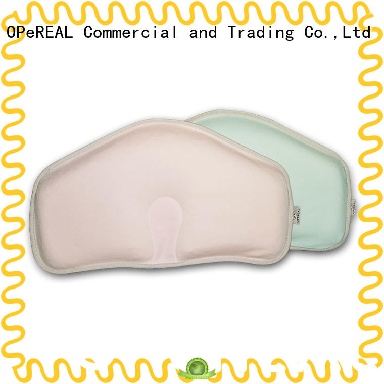 OPeREAL newborn pillow comfortable for crib