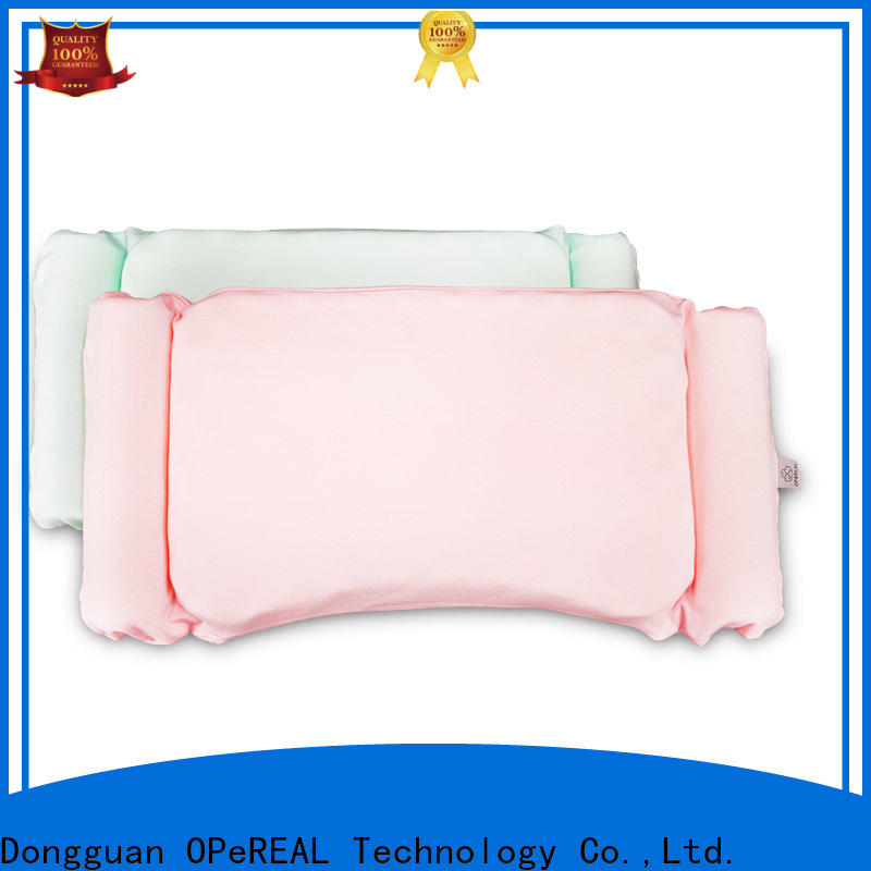 OPeREAL toddler bed pillow for children
