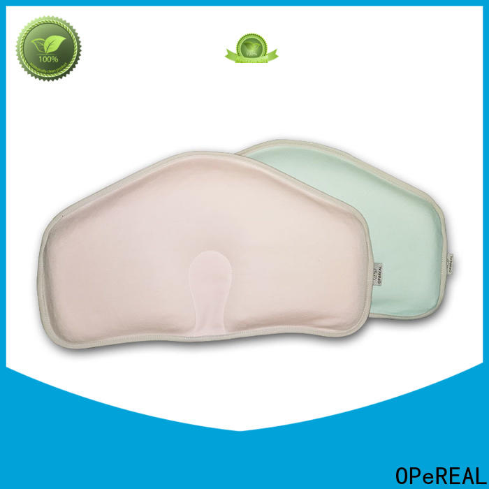 OPeREAL customized newborn baby pillow top brand for bed