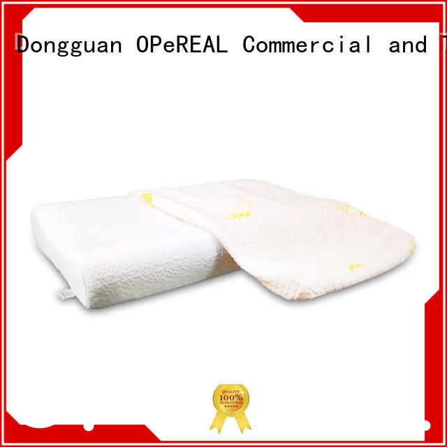 OPeREAL hot-sale adult neck pillow latest design for rest