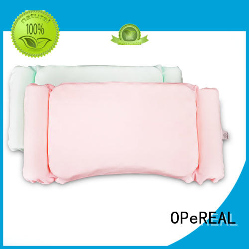 OPeREAL top-rated toddler bed pillow comfortable for head
