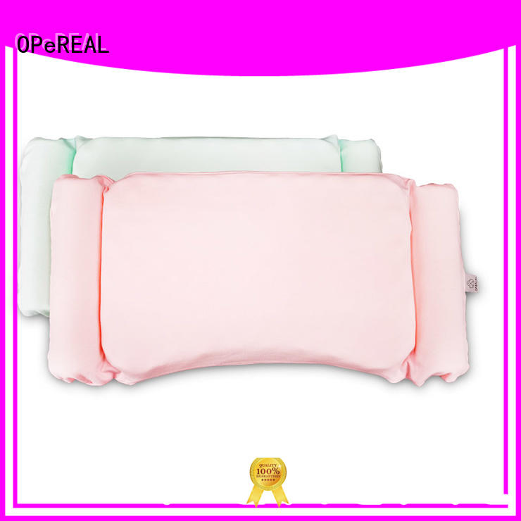OPeREAL toddler crib pillow for children