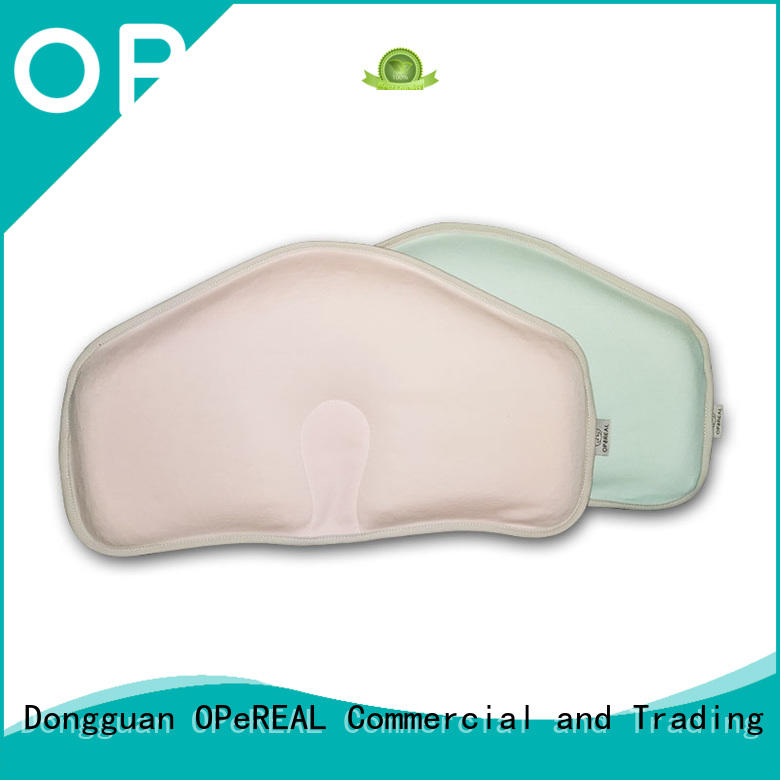 OPeREAL customized newborn pillow shaping for crib