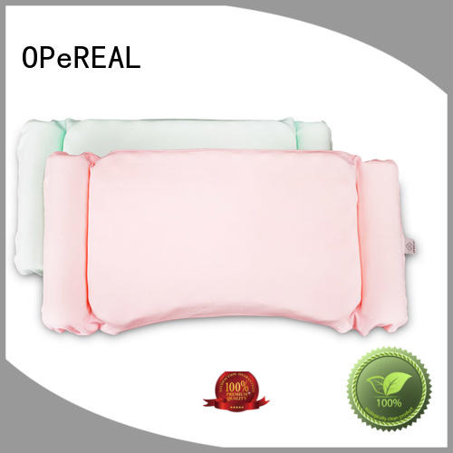 OPeREAL toddler crib pillow healthy for head