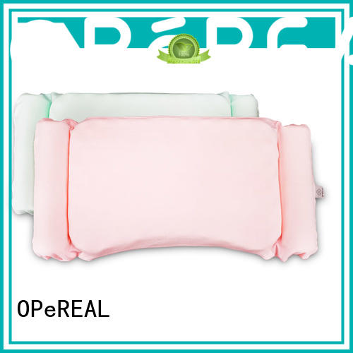 OPeREAL toddler bed pillow healthy for sleep