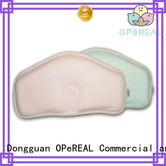 OPeREAL newborn pillow shaping for sleep