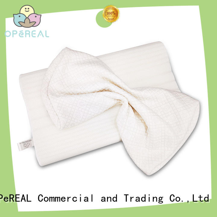 OPeREAL youth pillow factory price for neck