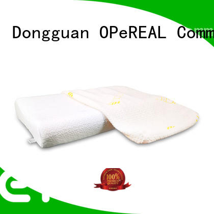 OPeREAL high-end adult neck pillow latest design for sleep