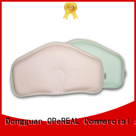 OPeREAL wholesale newborn pillow free sample fro baby