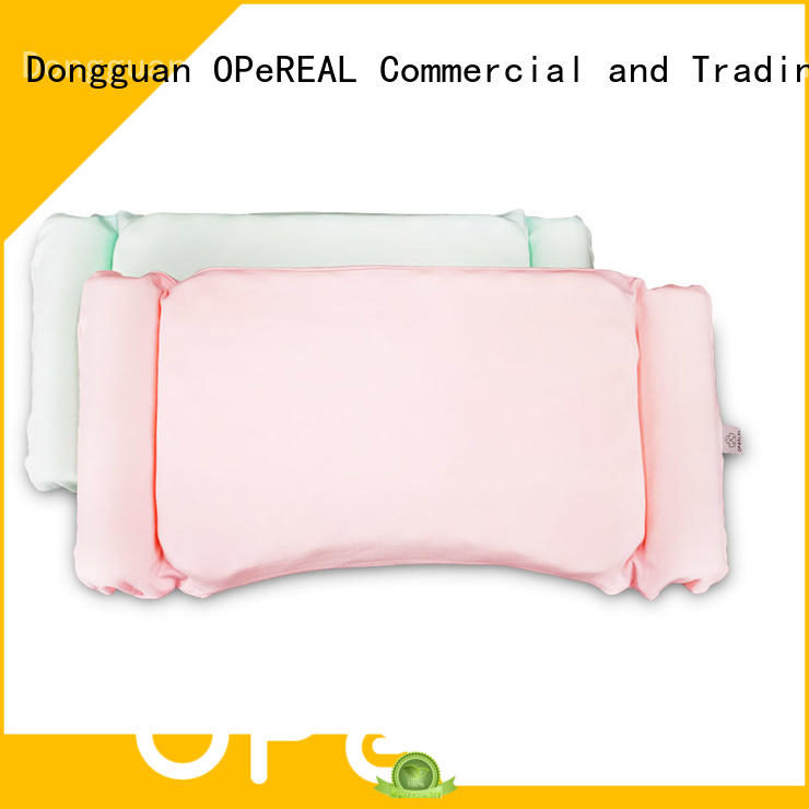 OPeREAL toddler bed pillow baby care for head