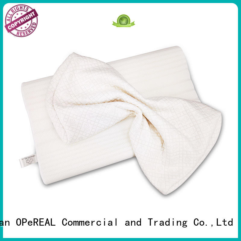 OPeREAL bulk production children pillow cheapest for neck