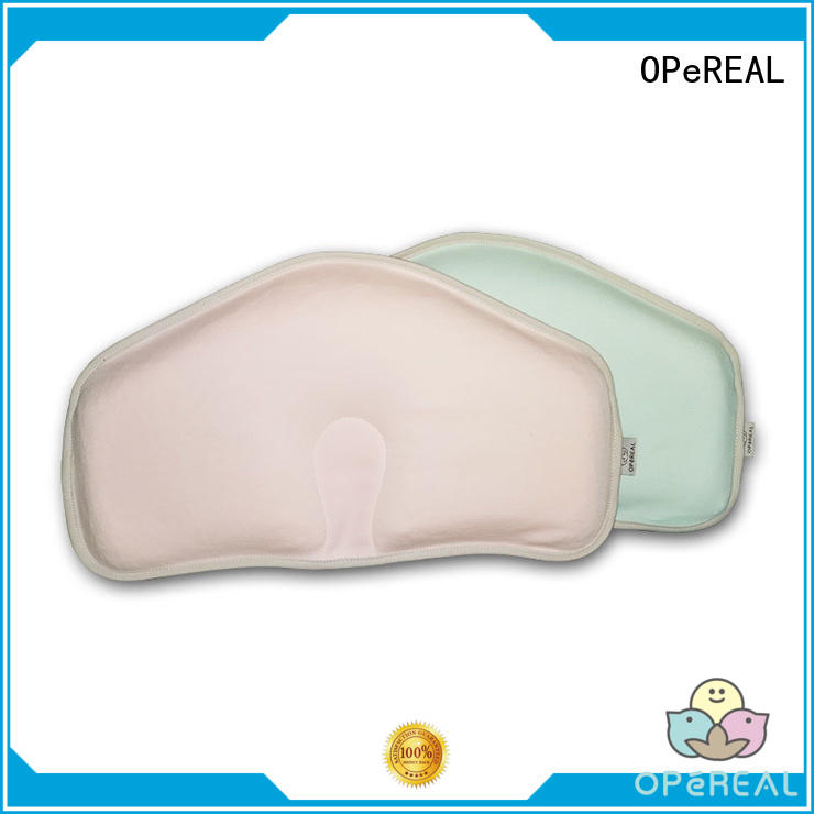 OPeREAL wholesale newborn baby pillow top brand fro baby