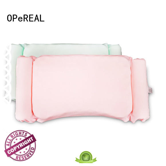 OPeREAL toddler crib pillow baby care for head