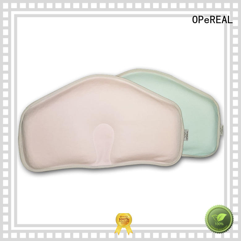 OPeREAL newborn pillow shaping for crib