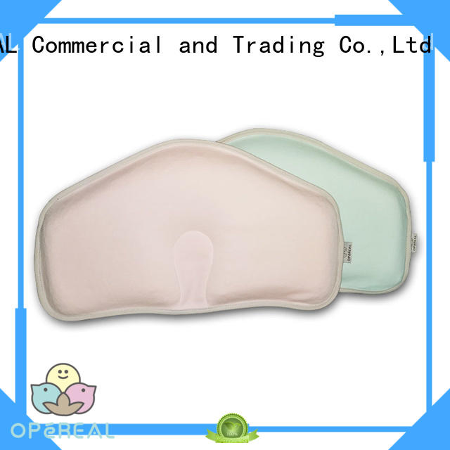 OPeREAL newborn baby pillow shaping for crib