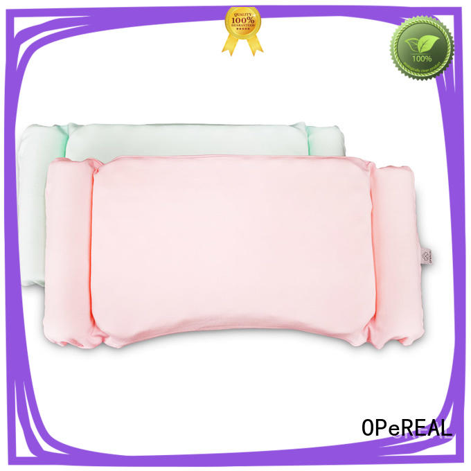 OPeREAL toddler crib pillow healthy for sleep