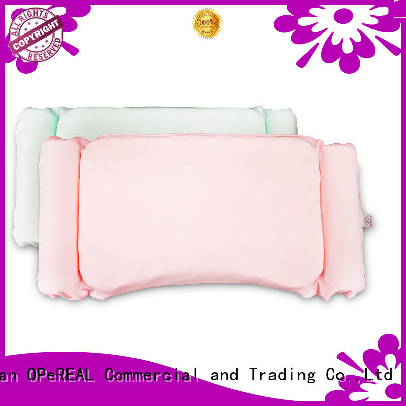 OPeREAL toddler bed pillow at discount for head