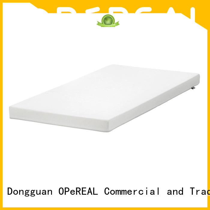 OPeREAL odm foam bed topper for children