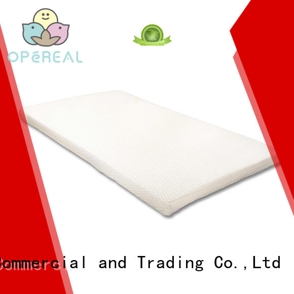 top selling baby mattress topper for infant OPeREAL