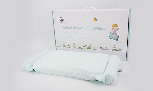 OPeREAL toddler bed pillow baby care for head-8