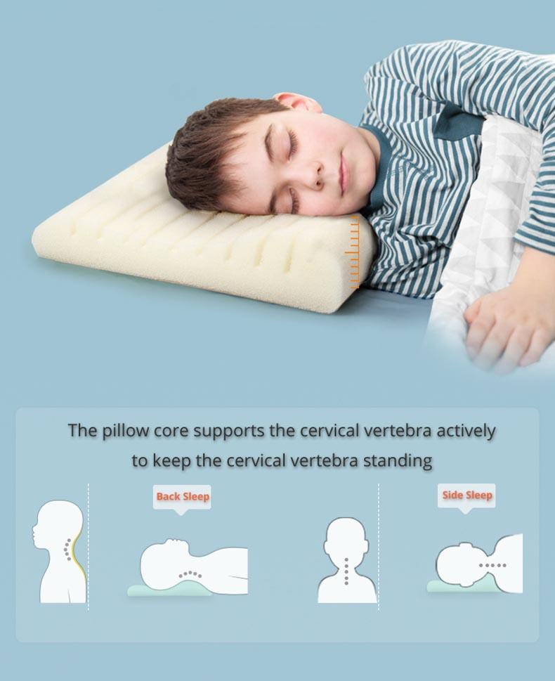 OPeREAL high-quality kids pillows for neck