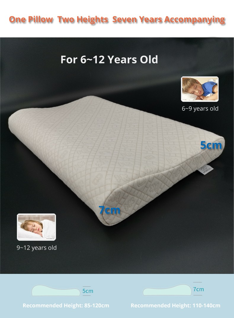 OPeREAL high-quality kids pillows for neck-4