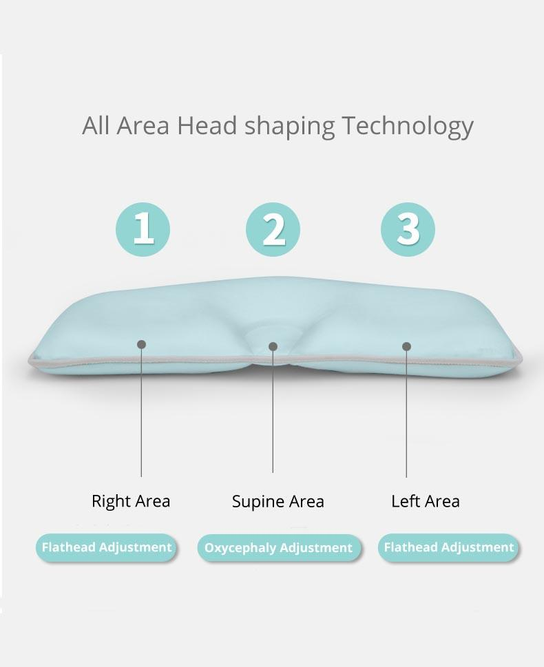 OPeREAL newborn baby pillow shaping for bed